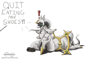 Hungry Arceus is Hungry