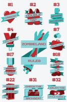 Rules of Zombieland by chris3290