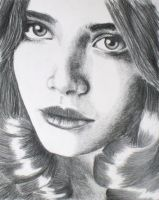 Drawing of Photo by hellwoman by bugsy366