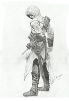 Assassin's Creed - Altair Ibn-La'Ahad by Lice-chan