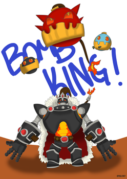 Bomb King fan art by Fiqllency
