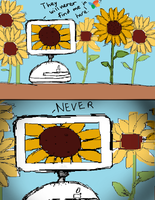 Dang it! I lost iMac G4 on a sunflower field! D: by Windows7StarterFan