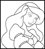 odette and derek coloring pages - photo#9