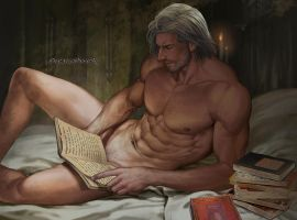 Read books with Master by aenaluck