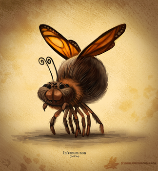 Daily Paint #1008. Things I'm Glad Don't Exist #1 by Cryptid-Creations