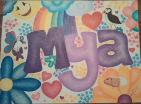 Mya's Name by CrazieCathie