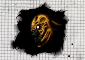 Monster in Your Collegeblock by Samael-SH0-to-5