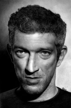 Vincent Cassel by Stanbos