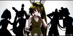 [MMD x FNAF] .: Shattered Souls :. by bluepixie02