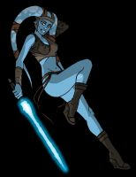 Aayla Pinup by grantgoboom