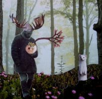 walkin about the woods one day by pualogan