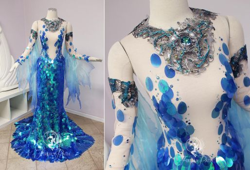 Neptunian Gown by Firefly-Path