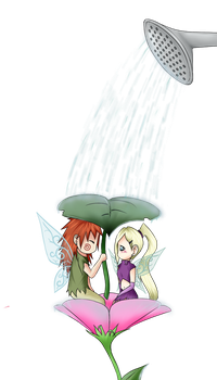 ChouIno month!: Watering Can by DogloverXD