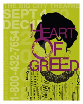 Heart of Greed Poster by japanjd75