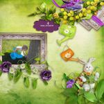 Easter wishes by deiaof