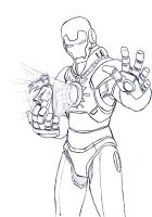 Exalted: solar Iron Man by Darcad