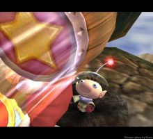 Brawl Picture- Olimar The Mole by Skully-Skulltopus