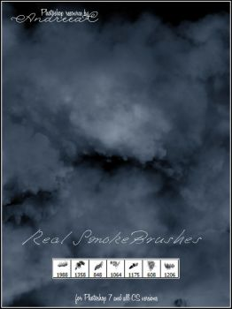 UNRESTRICTED - Real Smoke Brushes by frozenstocks