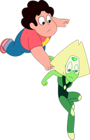 In which Peridot learns the wonders of Physics by CraftyAllie
