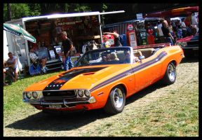 challenger convertible by AmericanMuscle