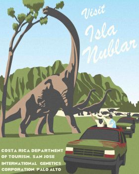 Visit Isla Nublar by DecoEchoes