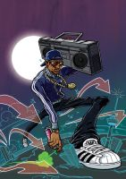 80s hip hop by red-monkey
