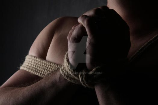 Light and Shade in Rope Bondage by Ange1ica
