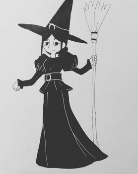 Wicked Witch by chubbynugget