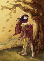 Disciples world 2: Dryad by sparrow-chan