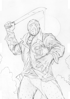 JASON VORHEES...Friday the 13th!!! by TimRees