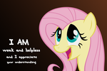 Weak and Helpless Fluttershy by martybpix