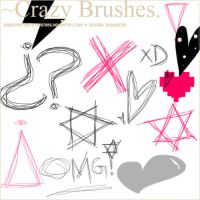 Crazy Brushes by PartyWithTheStars