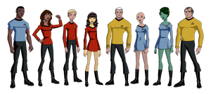 My TOS Fan Crew by Glee-chan