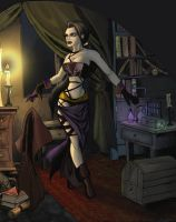 Sorceress by The-Unj