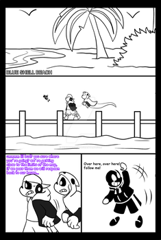 Gamertale: Code surfing and AU jumping pag 45 by zeroa5raven