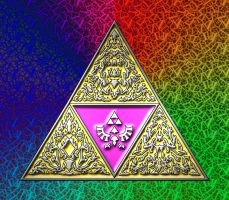 Triforce by greenwalled1