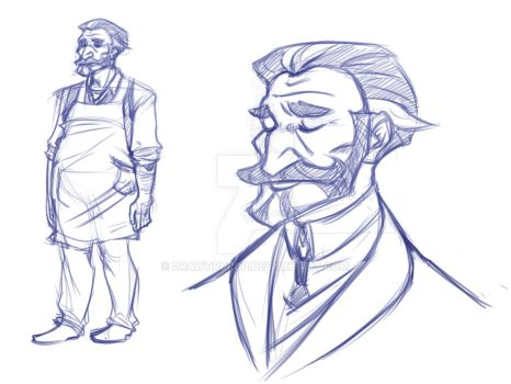 Father concept by DrawOrDrop