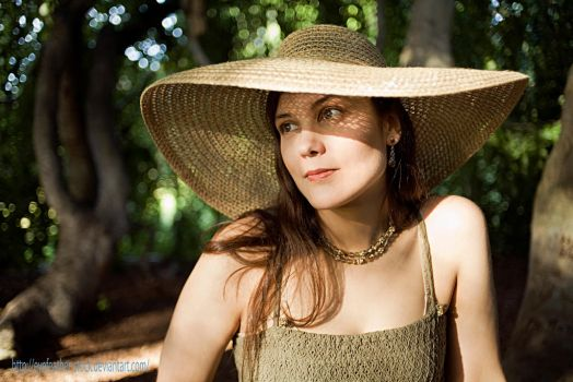 Sun Hat by eyefeather-stock