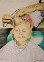 50s salon style girl by Mvraymer12