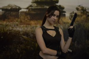 Lara Croft Underworld8 - IGAMES'13 by TanyaCroft