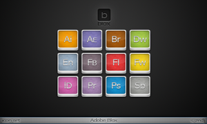 Adobe Blox Icons by Zedj
