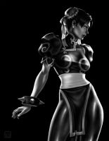 StreetFighter Tribute ChunLi by Keatopia