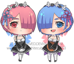 COMMISSION: RE ZERO by SinEngraved