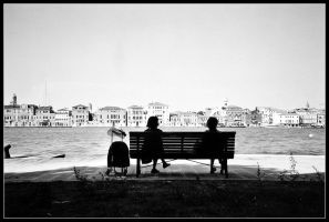 Watching Venice by lieveansia
