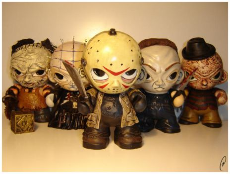 Jason and friends by Flame-Ivy