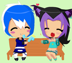 Request: Kyohie and Yuiko by HLenaVchan5