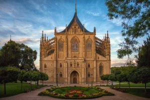 Cathedral of St. Barbara - Kutna Hora v2 by freemax