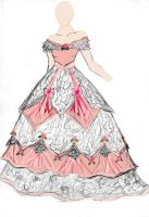 Rose ball gown by Spirit-of-the-Mist