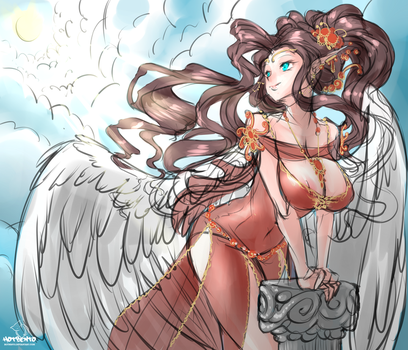 Angel by hotbento