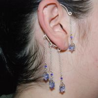 Light Sapphire Ear Wrap- SOLD by YouniquelyChic